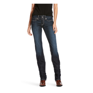 Ariat mid rise boot cut jeans womens