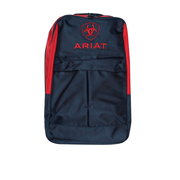 Ariat Back Pack Navy and Red