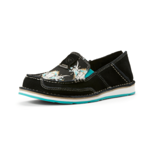 Ariat Cruisers womens black with steer heads