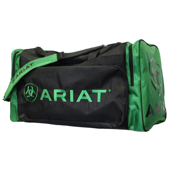 Ariat Large Gear Bag Black with Green