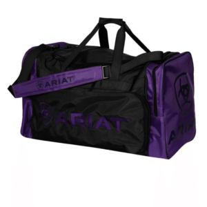 Ariat Gear Bag Large Black with Purple