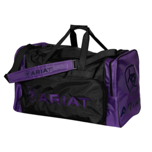 Ariat Gear Bag Junior size purple with black