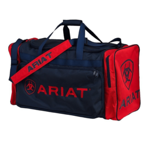 Ariat Junior Gear Bag Navy with Red