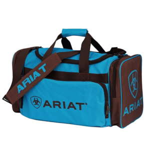 Ariat Junior Gear Bag Brown and Turqoise