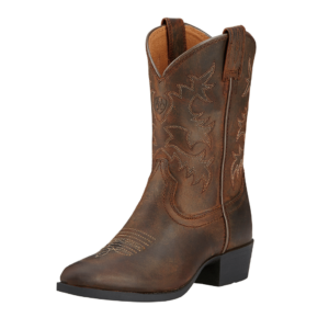 Ariat Kids distressed brown western style boot