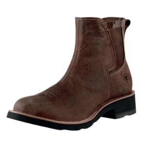 Mens Ariat Ambush, Distressed brown elastic sided crepe sole boots