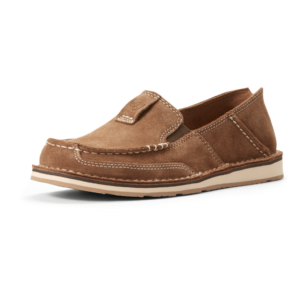 Womens ariat cruisers in a chestnut suede colour