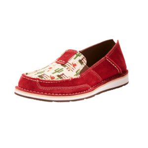 Ariat Cranberry coloured cruiser shoes