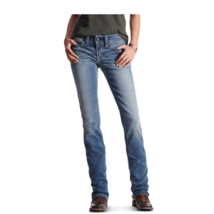 Ariat Rainstorm womens real straight leg jeans