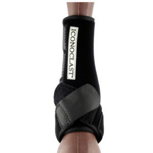 BLack Iconoclast horse support boot