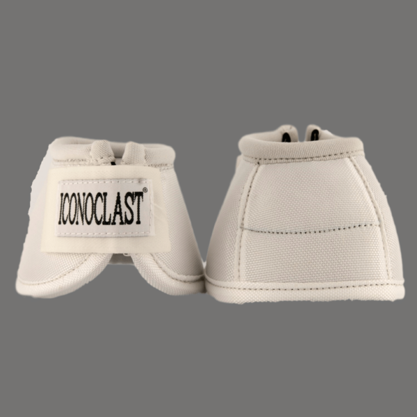 Iconoclast Bell Boots White