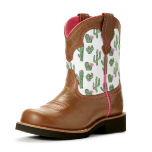 Kids Fatbaby boots with cactu9s print