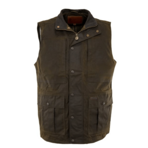 Outback Mens Deer Hunter Vest Brown colour
