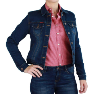 RIngers Wetsern Womens Denim Jacket