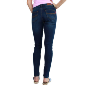Ringers western womens mid rise skinny leg jean in classic blue