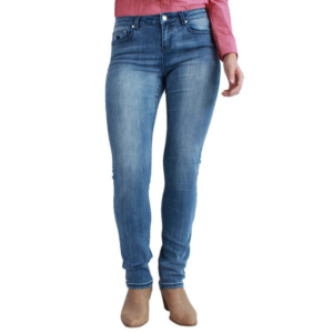 VIctoria Mid Rise Stretch Jeans Front View