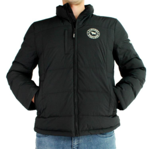 Ringers Western Mens Black Puffa Jacket Bairnsdale Horse Centre