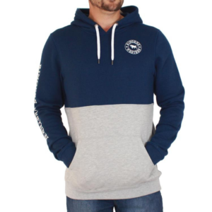 Ringers Wetsern Mens Hoodie navy top grey bottom kangaroo style pockets