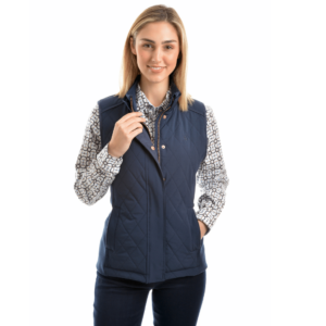 Thomas Cook womens Navy vest