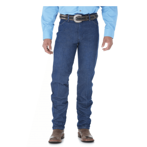 Mens wrangler rigid unwashed jeans, boot cut