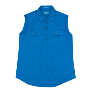 Just Country Womens Kerry Workshirt -Blue Jewel
