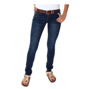 Ringers Western WOmens Jeans Low RIse Straight Leg Classic Blue