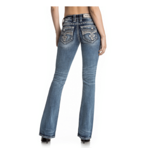 Rock Revival Womens Bling Jeans Back view