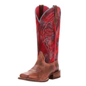 Ariat Womens wide square toe western style boot