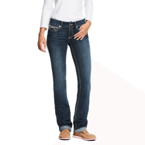 Womens Ariat Straight Leg low rise Jeans