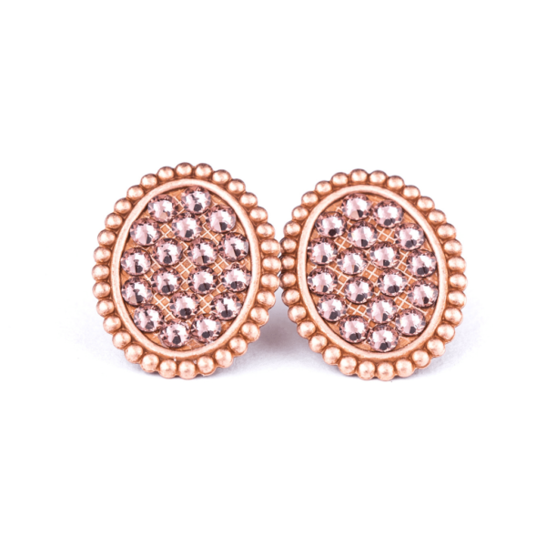 Pink_panache_Rose_Gold_Mini_Oval_Post_Earring_With_Rose_Blush_Crystal