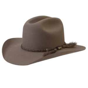 Akubra Rough Rider Felt Hat Bran with horse hair hat band