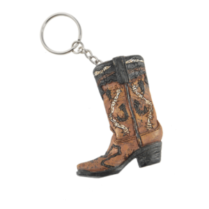 Boot Horse Shoe Key Chain