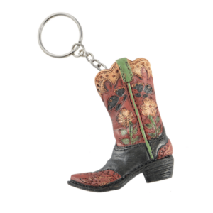 Boots Butterfly & Flower Key Chain